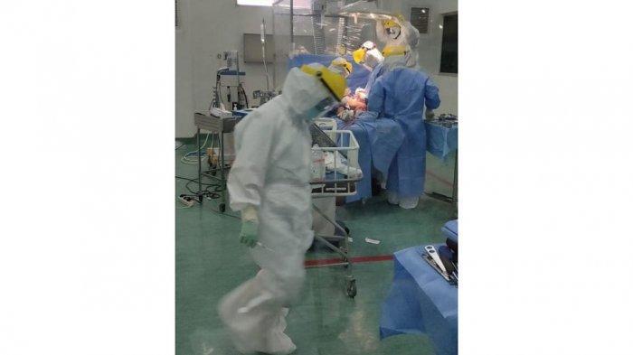 Perdana di Kepri, RSBP Batam Operasi Pasien Covid-19, Alami Kecelakaan Lalu Lintas