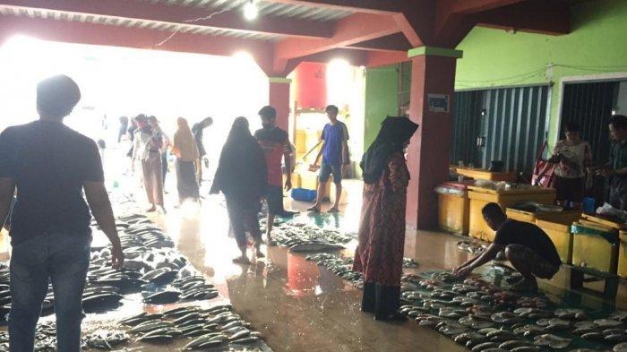 Ikan Tongkol Banjiri Pasar Ikan Tarempa di Anambas, Harga Per Ekor Rp 30 Ribu