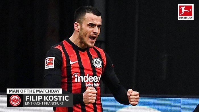 Pemain Eintracht Frankfurt Filip Kosti?