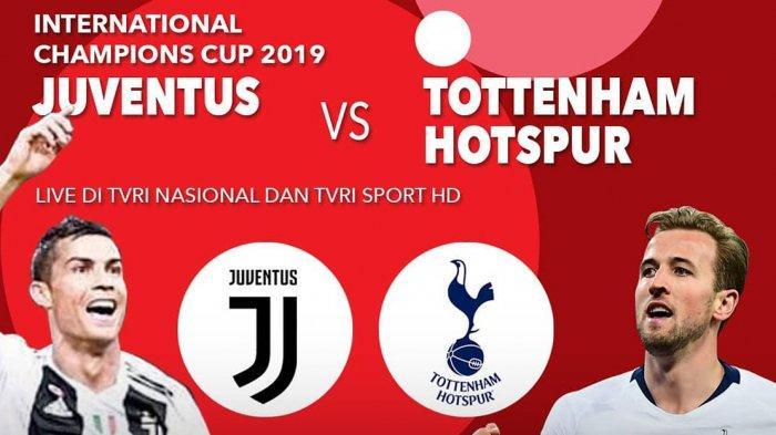 LIVE TVRI Juventus vs Tottenham Hotspur, Debut Maurzio Sarri dan Matthijs de Ligt