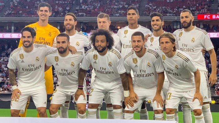 Sedang Berlangsung Live Streaming Real Madrid vs Bayern Muenchen di ICC 2019, Debut Eden Hazard