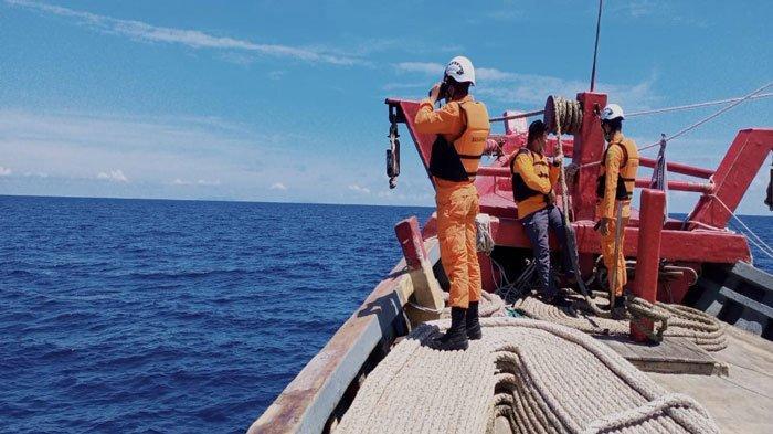 Seorang ABK KM Martapura Hilang di Perairan Subi Natuna, Tim SAR Lanjutkan Pencarian