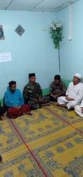 Datang ke Desa Pongkar Memakai Seragam Loreng, Anggota TNI Ikut Kenduri Selamatan Kampung