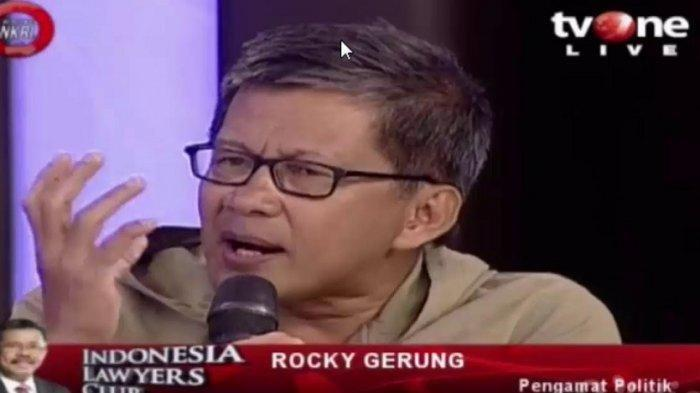 LC TV One,Sindir Presiden,Rocky Gerung: Seberapa Dekat Anda denganPresiden