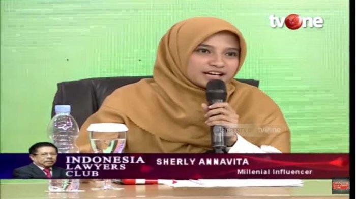 Pro Prabowo di Pilpres, Sherly Annavita Kritik Jokowi di ILC, Muncul saat Tepat