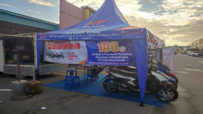 Beli Motor Yamaha saat Karavan Dapat Voucher Diskon bagi 10 Pembeli Pertama