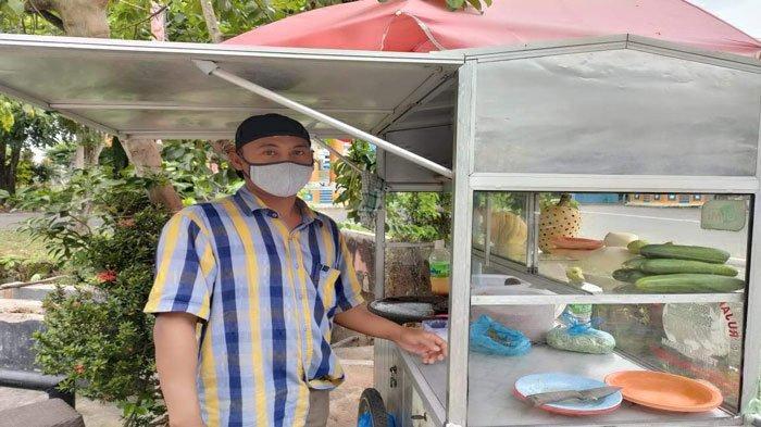 Kisah Widodo, Penjual Rujak di Tanjungpinang Bertahan Hidup di Tengah Pandemi Covid-19