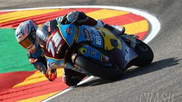 Tak Mau Kalah dengan Abangnya, Alex Marquez Juga Cetak Rekor di Moto2 Aragon