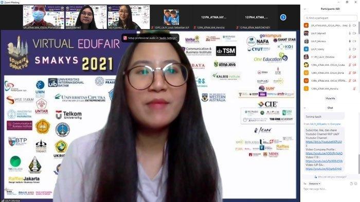 Event Virtual Edu Fair SMA Katolik Yos Sudarso Batam 2021, Patisipasi Siswa Kian Bertambah