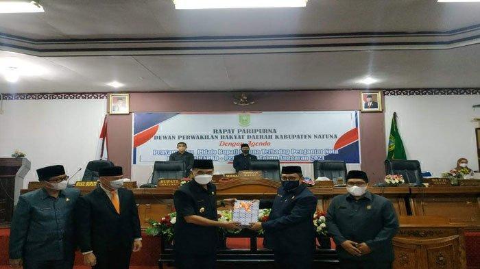 Bupati Natuna Ajukan Perubahan APBD 2021 Senilai Rp 1,18 Triliun