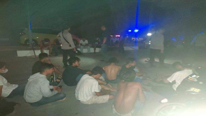 Belasan Pemuda Pelaku Balap Liar di Karimun Ditangkap Polisi
