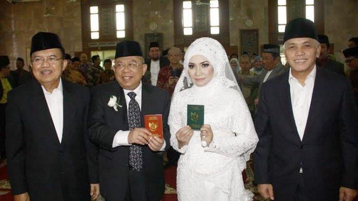 2 Cawapres Saksi Nikah Pernikahan Maruf Amin, Suami Wury Estu Handayani Kini Jadi Wapres