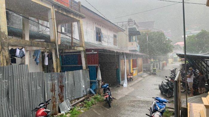 INFO Cuaca, Tarempa Anambas Diguyur Hujan Pagi Ini, BMKG Ingatkan Warga Tetap Waspada