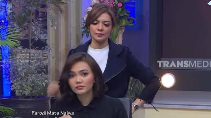 Balasan Najwa Shihab buat Rina Nose yang Tiru Gayanya di Mata Najwa, Bikin Sang Pelawak Gugup