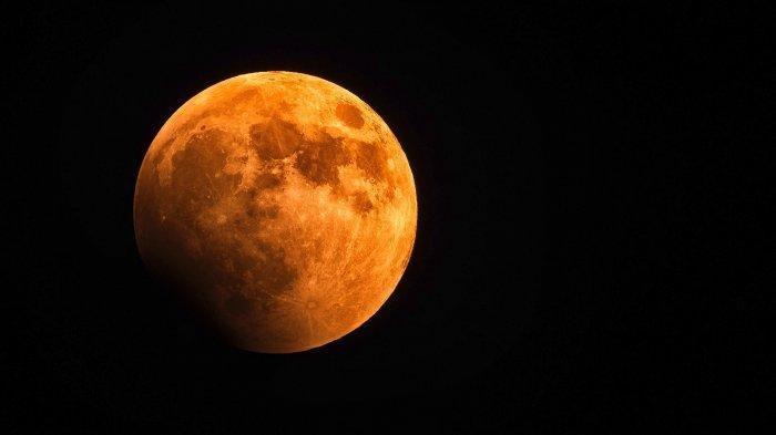 Ilustrasi Blood Moon