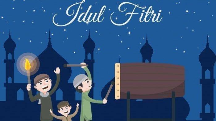 Kumpulan Pantun Idul Fitri 2020 1 Syawal 1441 H untuk Ajang Silaturahmi Lebaran di Rumah Saja