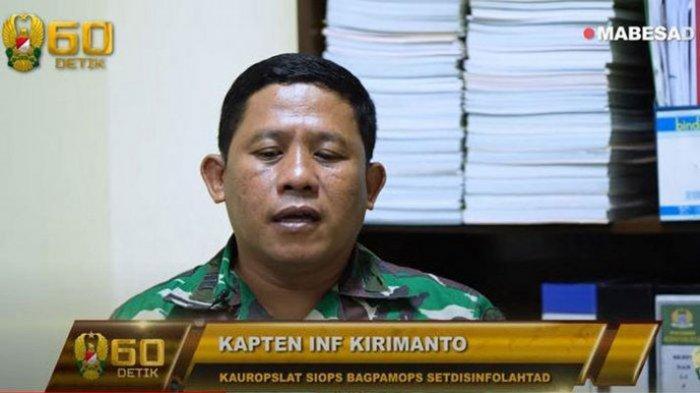 Kisah Kapten Inf Kirimanto Ditemui Jenderal Andika, Sempat Mau Menyerah