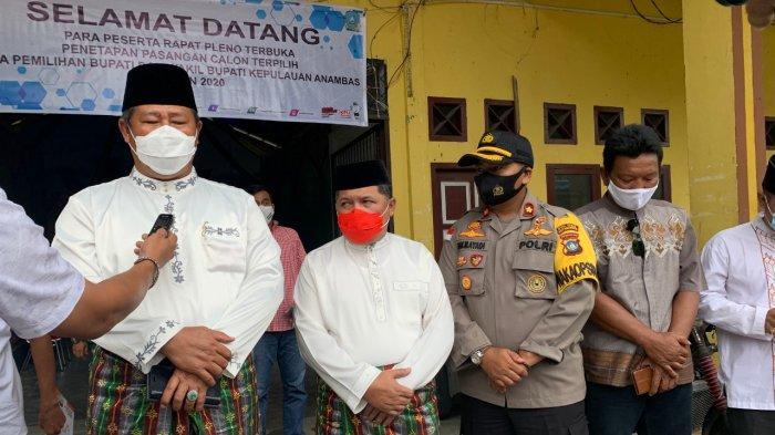 Kembali Terpilih Jadi Bupati Anambas, Abdul Haris Senang: Semua Berkat Dukungan Masyarakat