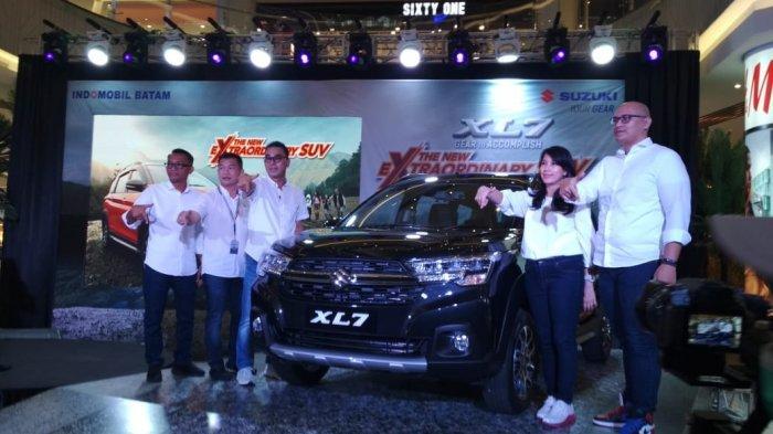 Suzuki XL7 resmi mengaspal di Kota Batam, Hadir Dengan Fitur Canggih E-Mirror