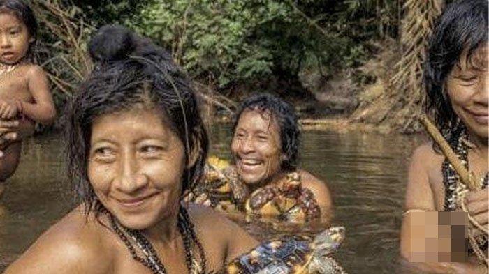 Cara Suku Wanita di Amazon Hamil & Punya Anak Terbongkar, Padahal Tidak Ada Kaum Pria di Dalamnya