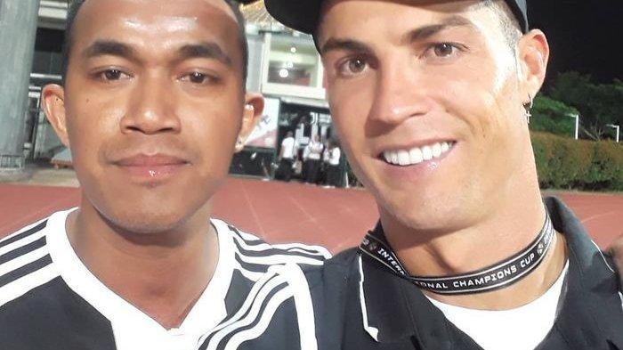 Kisah Fans Indonesia Panjat Pagar 6 Meter, Terobos Pengamanan Demi Selfie dengan Cristiano Ronaldo