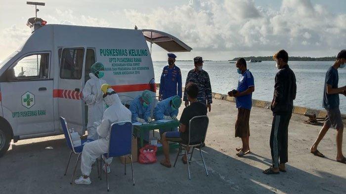 9 ABK KM Bandar Bestari di Natuna Positif Covid-19 Dari Hasil Tes Antigen