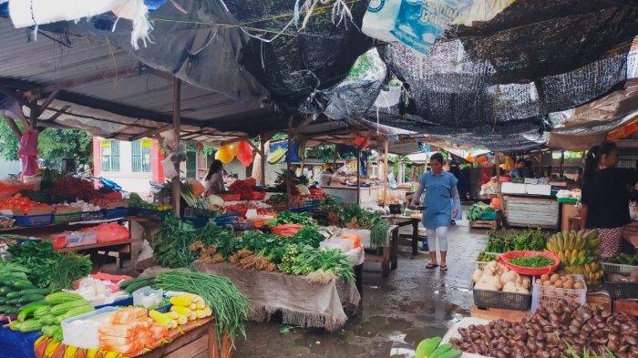 DAMPAK Musim Hujan, Harga Sayuran di Pasar Puan Maimun Karimun Melonjak