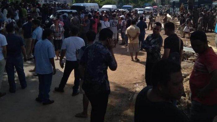 BREAKINGNEWS - Takut Digusur Ulang, Pedagang Padati Pasar Induk Jodoh Batam