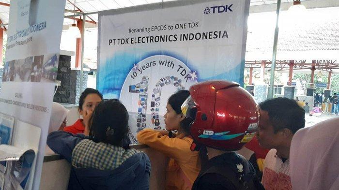 JOB FAIR 2019 - Ada 646 Pencaker Daftar ke PT TDK Electronics Indonesia Batam