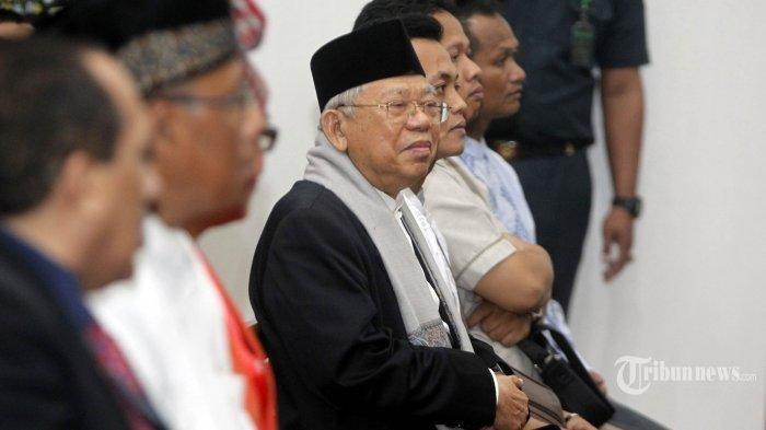 Ma'ruf Amin Tegaskan Tak Dilibatkan Dalam Pemilihan, Jatah Menteri, Ada Apa?