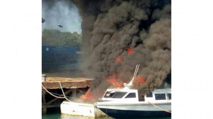 Kapal Sitaan Bea Cukai Hangus Terbakar, Humas Bea Cukai : Barang Hasil Tegah Tersimpan di Gudang