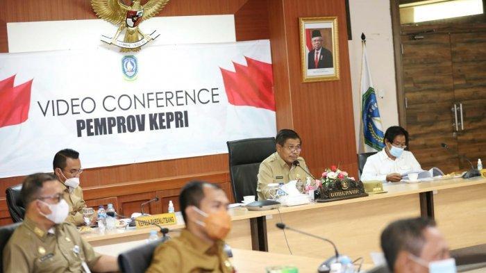 Pj Gubernur Kepri Ikut Rakor Gubernur se-Sumatera, Pembangunan Jembatan Batam Bintan Ikut Dibahas