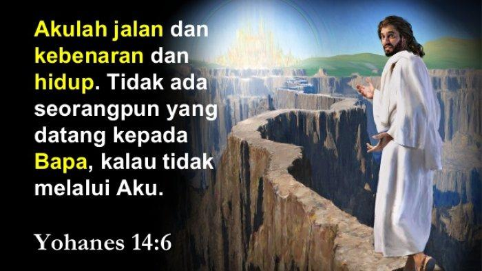 LUKISAN - Tinggallah dalam Kebenaran Yesus