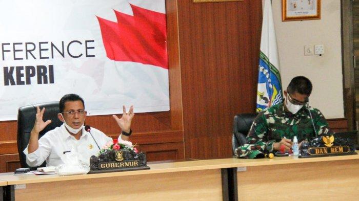 Pemulangan TKI Lewat Batam, Ansar Ahmad Tunjuk Danrem 033 WP Jadi Ketua Satgassus Covid