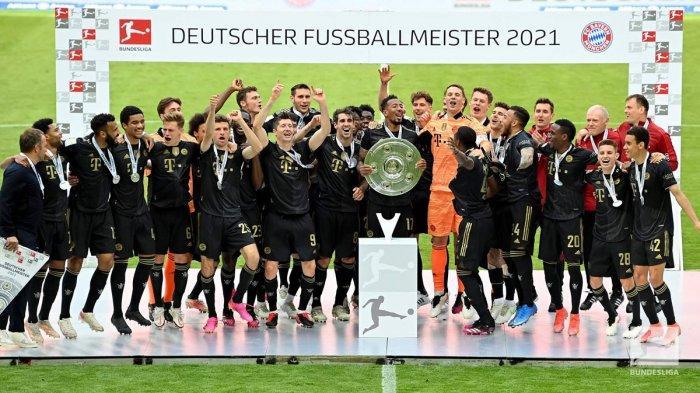 Klasemen Akhir Liga Jerman 2020-2021, Bayern Munchen Juara, Werder Bremen Degradasi