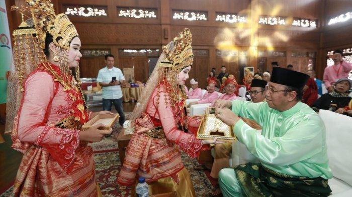 Anwar Pamer Keberhasilan Karimun ketika Hadiri Halal Bi Halal K3J di TMII Jakarta