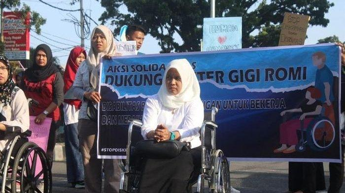 Kisah Pilu Dokter Gigi Romi, Peringkat 1 Seleksi CPNS Batal Jadi PNS Karena Penyandang Disabilitas