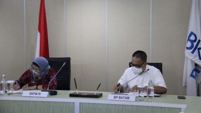 Integrasikan Sistem Pelayanan Perizinan Investasi, BP Batam Gandeng BKPM dan Pemko Batam