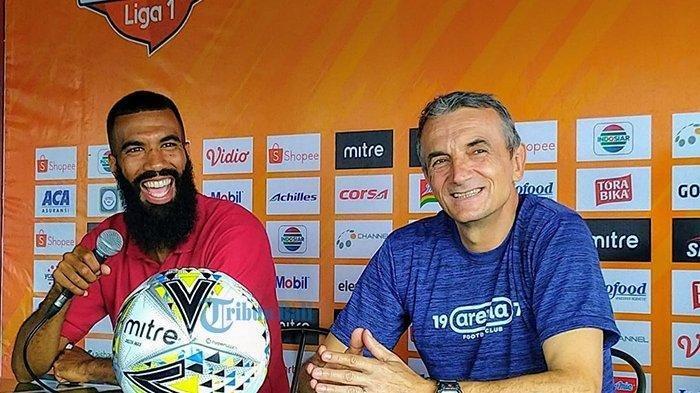 Bali United vs Arema FC Malam Ini, Sylvano Comvalius Taring Tajam Singo Edan