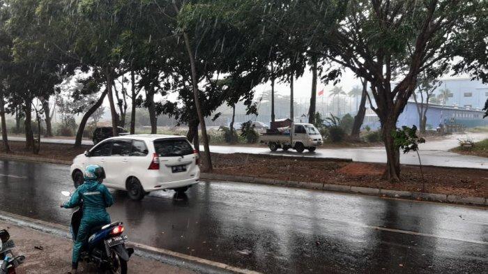 RAIN Evenly in Batam, BMKG Issues Early Weather Warning, Beware of Lightning Rain