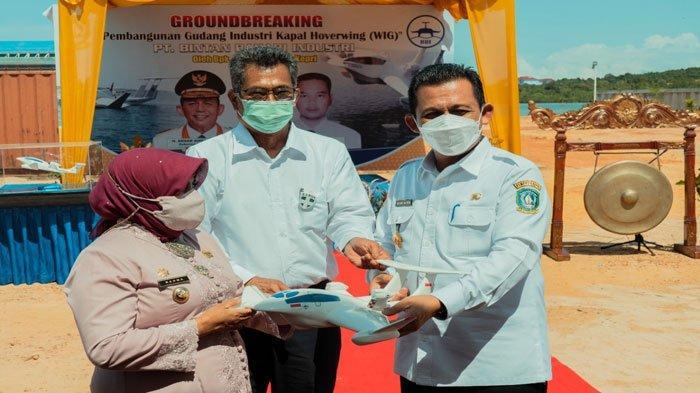 Ansar Bangga, Industri Perakitan Pesawat Apung Mulai Dibangun di Tanjungpinang