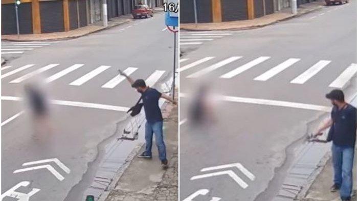 Ogah Dimintai Uang Receh, Pria Ini Tembaki Pengemis Jalanan Sampai Bersimbah Darah & Meregang Nyawa