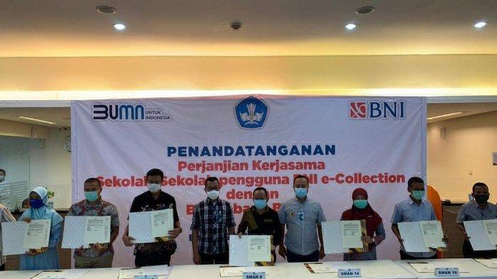 BNI Batam Dukung Program Pembayaran SPP Non Tunai Melalui BNI e-Collection