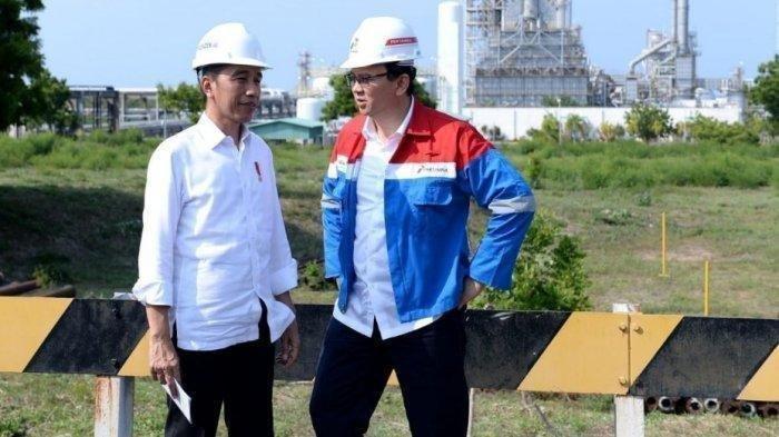 Presiden Jokowi dan Basuki Tjahaja Purnama atau biasa disapa Ahok