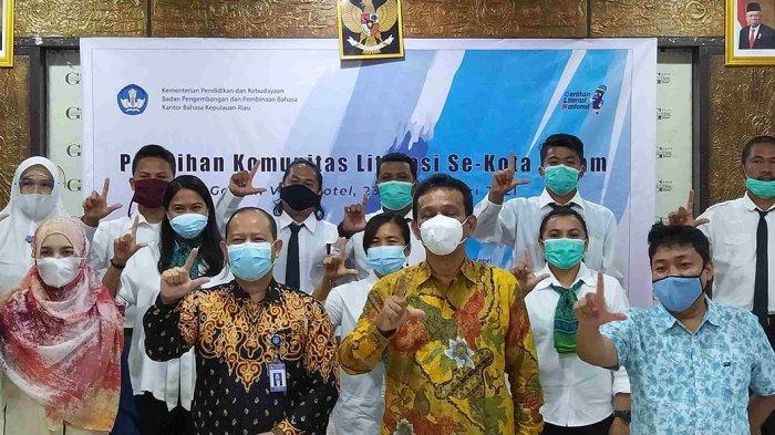 Pengurus FTBM Batam Dilantik, Richard: Indonesia Peringkat 4 Terendah di Dunia Soal Literasi
