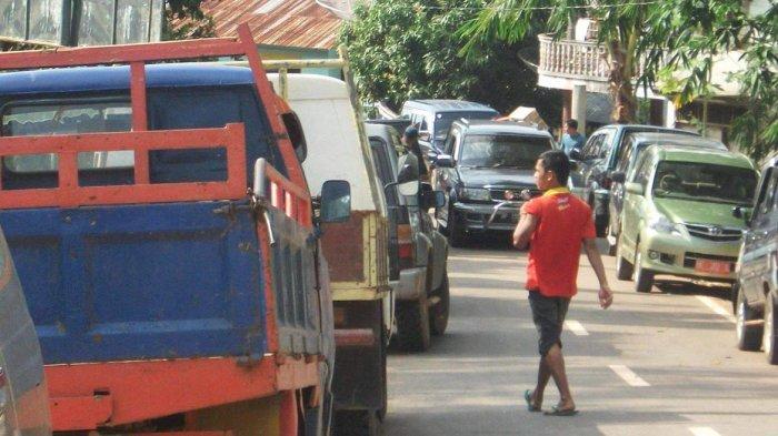 Parkiran Mobil Pelabuhan Domestik Jagoh Lingga Over Kapasitas, Pemkab Diminta Tambah Lahan Baru