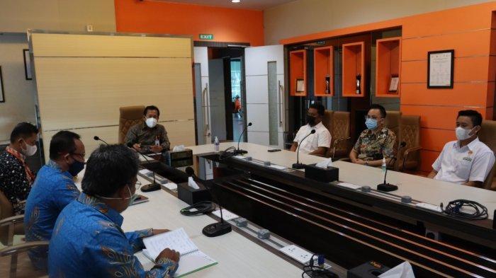 Direktur Utama bright PLN Batam Sambut Kedatangan Ketua HIPMI Batam
