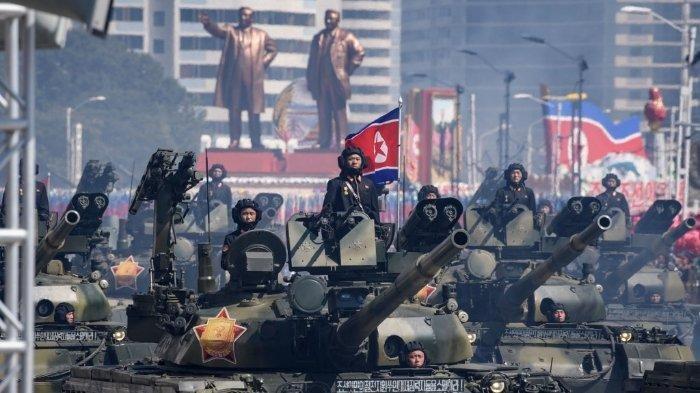 Moncong Artileri Korea Utara Terbuka dan Mengarah Ke Korea Selatan, Pertanda Siap Berperang?