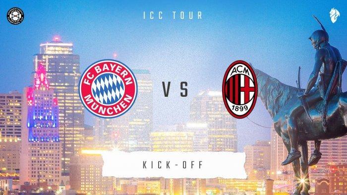 Sedang Berlangsung Live Streaming Bayern Muenchen vs AC Milan di ICC 2019