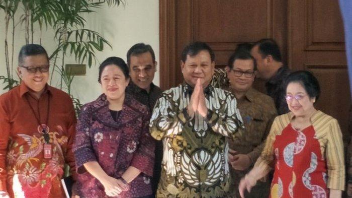 Prabowo Kangen Nasi Goreng Bikinan Megawati,Pertemuan Digagas Sejak Asian Games 2018